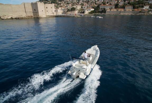 marlin 21 dubrovnik boat services speedboat