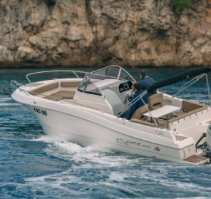 atlantic open 750 speedboat